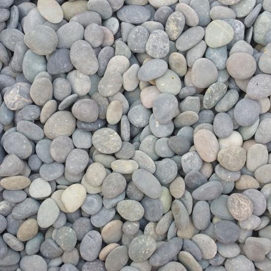 "3/8-5/8"" Mexican Beach Pebbles"